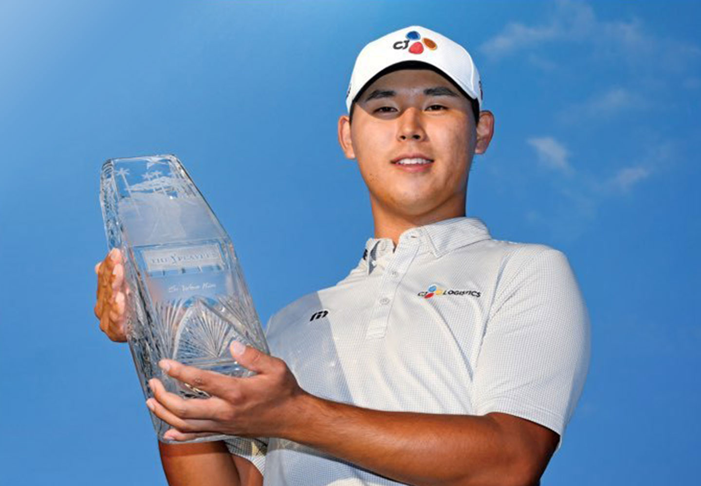 The youngest player, Kim Si-Woo of the PGA Tour Players Championship!